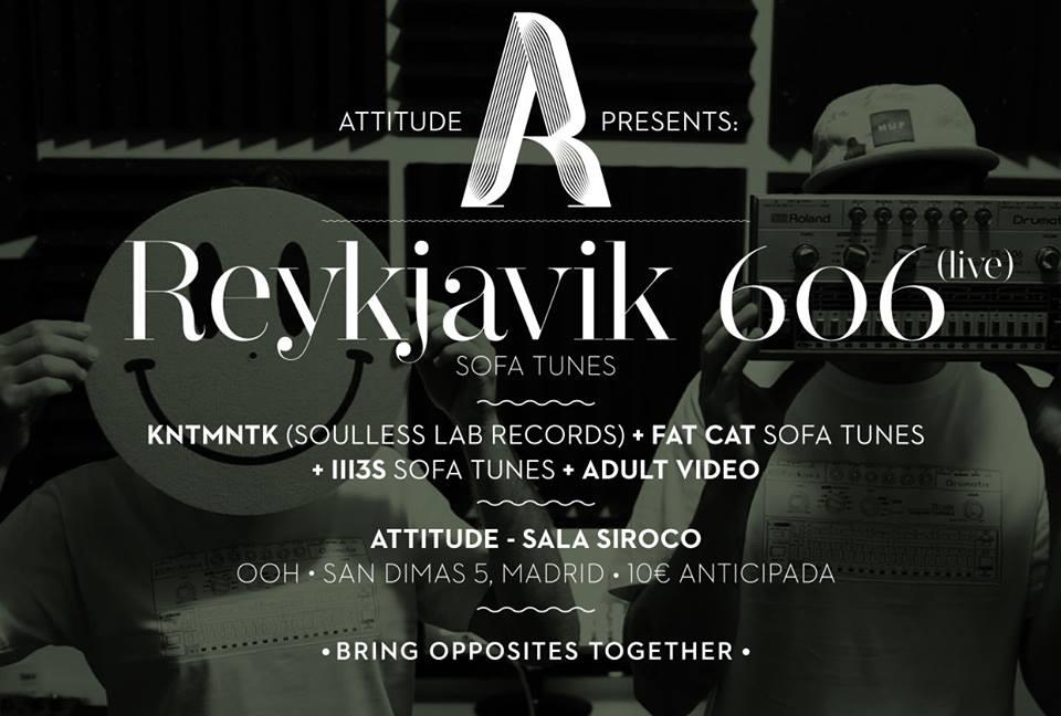 SOFA TUNES Label Night w/ REYKJAVIK 606 Live!!