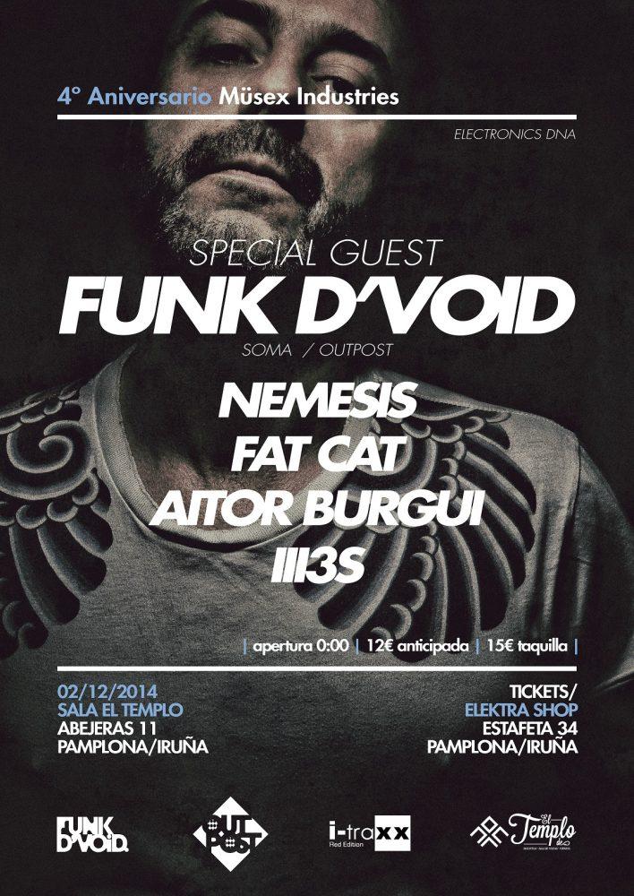 FUNK D'VOID @ MUSEX INDUSTRIES 4th ANNIVERSARY