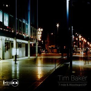 Tim Baker new EP on I-Traxx Recordings (Black Edition)